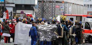 Unfall mit Pferdekutsche am Appellhofplatz copyright: CityNEWS / Thomas Pera