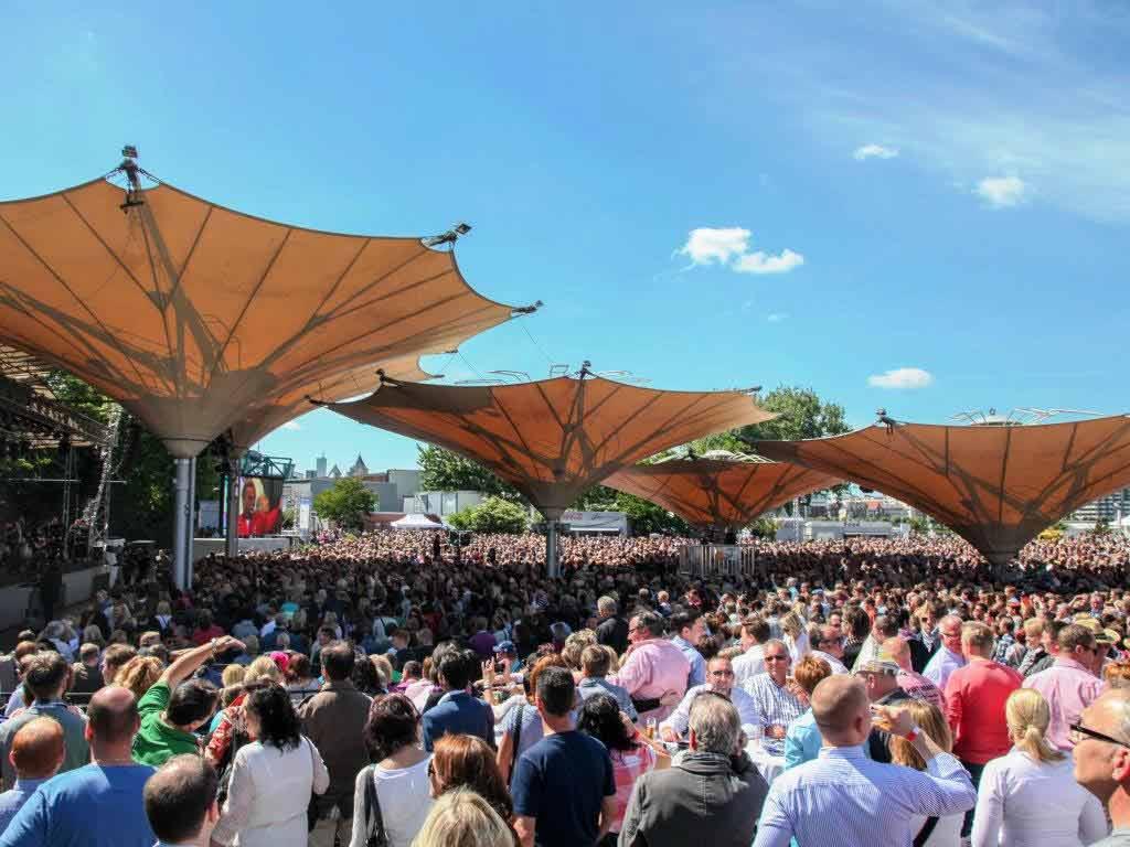 Konzerte im Tanzbrunnen können stattfinden copyright: KölnKongress