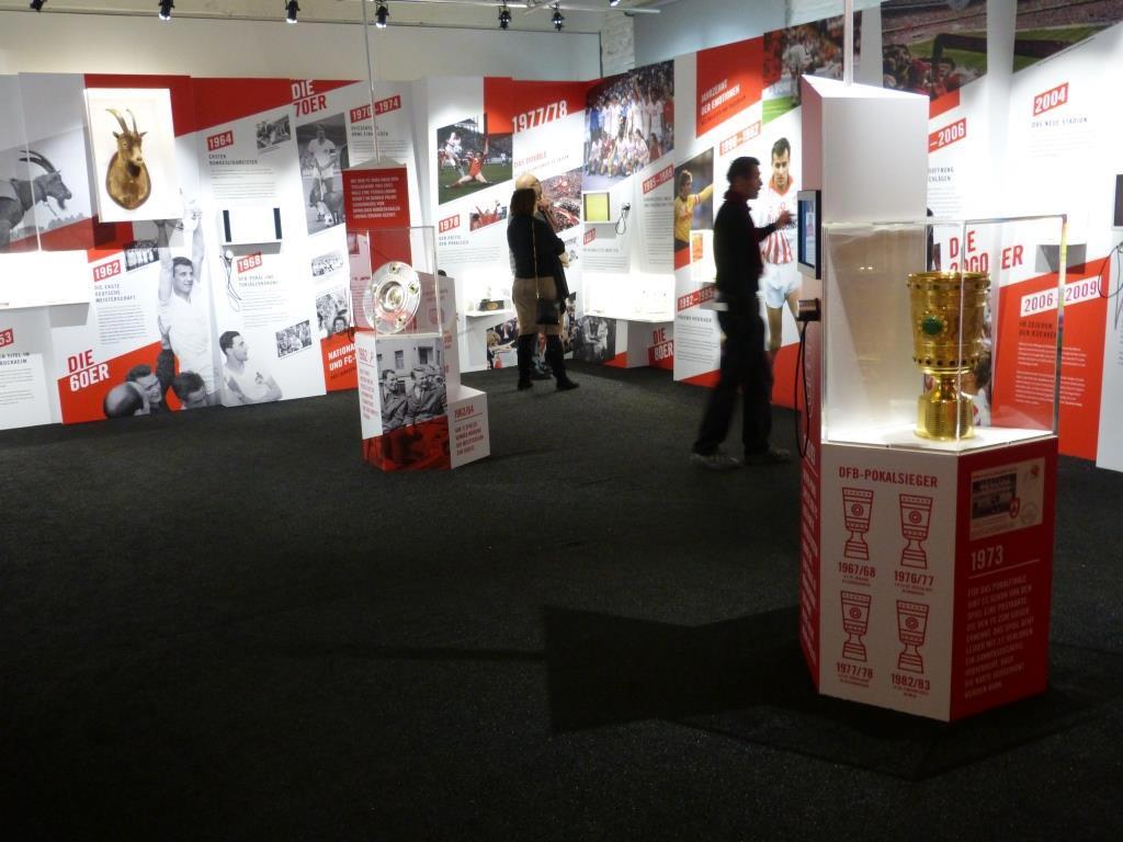 70 Jahre 1. FC Köln: Spannende Ausstellung im Kölner Sport & Olympia Museum copyright: CityNEWS / Heribert Eiden