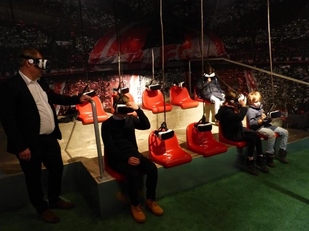 Tradition trifft auf Moderne: Die Ausstellung vom 1. FC Köln im Spport & Olympia Museum. copyright: CityNEWS / heribert Eiden