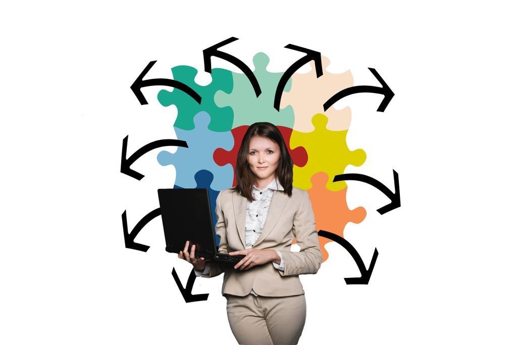 Die Karriereleiter mit Businesscoaching steil bergauf! copyright: pixabay.com