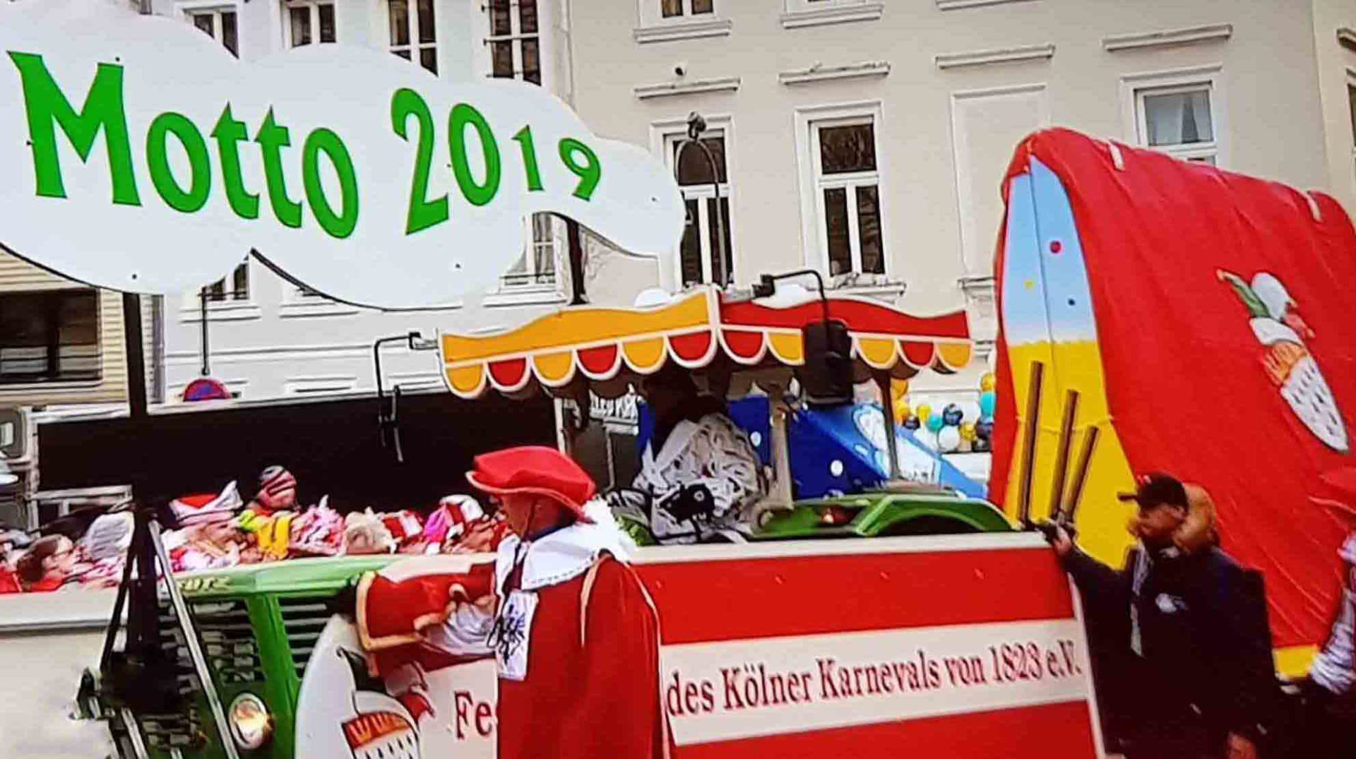 das war der rosenmontagszug in k ln motto der session 2019 steht fest. Black Bedroom Furniture Sets. Home Design Ideas