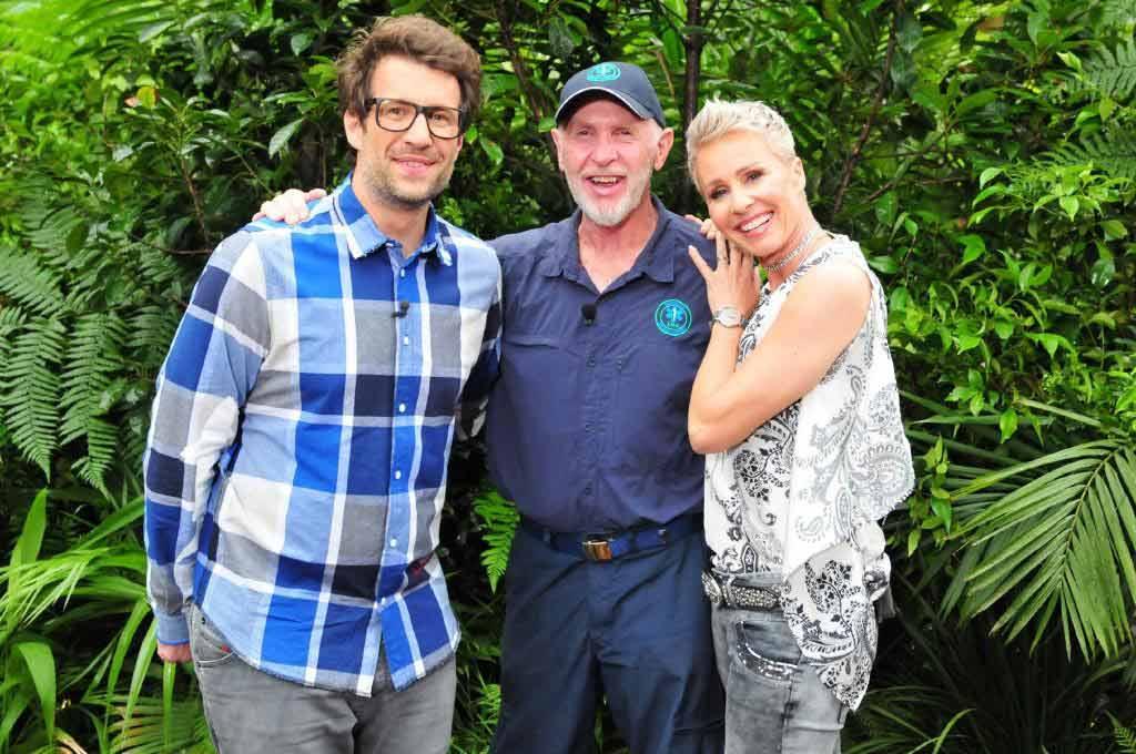 Das Dream-Team im Dschungelcamp: Daniel Hartwich, Dr. Bob und Sonja Zietlow. Foto: MG RTL D / Stefan Menne Alle Infos zu 'Ich bin ein Star - Holt mich hier raus!' im Special bei RTL.de