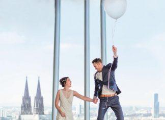 """Heiraten in der Domstadt: Die schönsten Locations zum """"Ja""""-Sagen in Köln copyright: KölnSKY / Daniel Undorf Fotografie"""