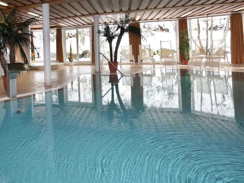 Genießen Sie die Ruhe, Entspannung und Erholung zum Beispiel in der Wellnessanlage. copyright: Hotel Schöne Aussicht