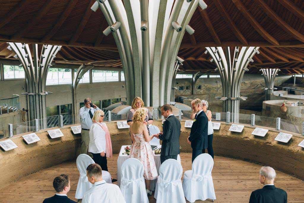 Eine ganz tierische Hochzeit kann man im Kölner Zoo feiern. copyright: David Grigo