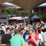 Der Kölner Fischmarkt am Tanzbrunenn lädt zum Shoppen, Schlemmen und Genießen. copyright: CityNEWS / Alex Weis
