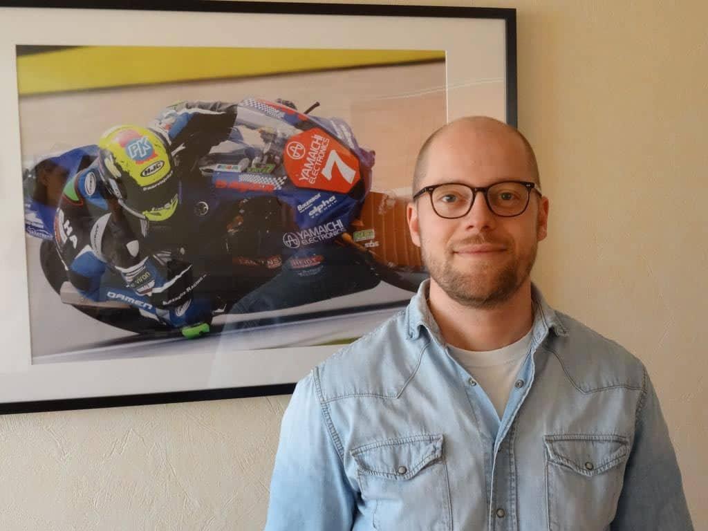 Geschäftsführer Daniel Müller möchte mit seinen Airbag-Jacken für mehr Sicherheit auf den Straßen sorgen. copyright: CMM Motorrad
