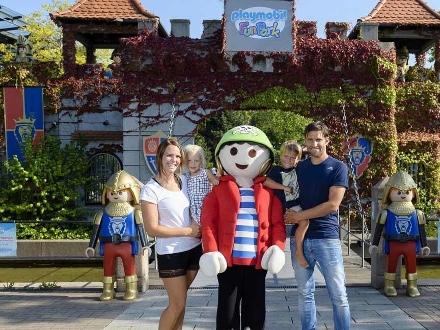 Playmobil Fun Park in Zirndorf PLAYMOBIL/geobra Brandstätter Stiftung & Co. KG / Uwe Kling