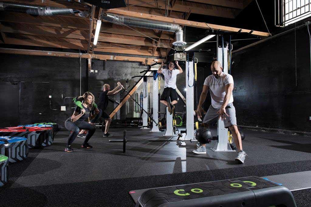 Ganzheitliches Training im Vordergrund copyright: Escape Fitness