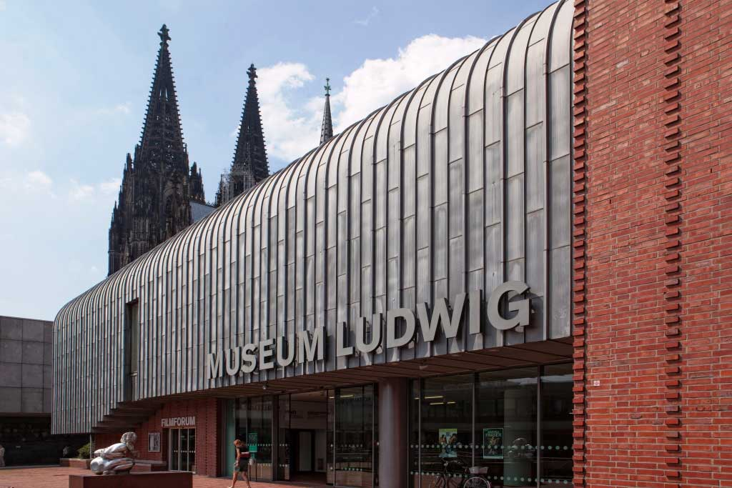 Das Museum Ludwig in Köln bietet ein digitales Kunst-Programm im Zeichen der Corona-Krise. copyright: Stadt Köln / Lee M