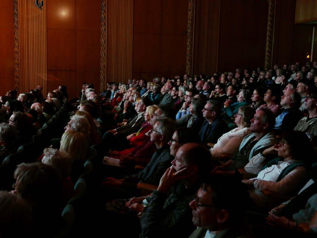 Jazz, Education und audiovisuelle Perfomances begeisterten das Publikum in Köln. copyright: Jörg Hejkal