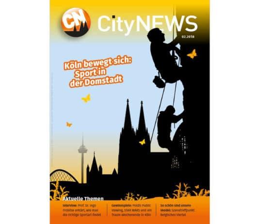 Die neue Ausgabe der CityNEWS - dem kostenlosen Stadtmagazin für Köln und die Region - ist da!