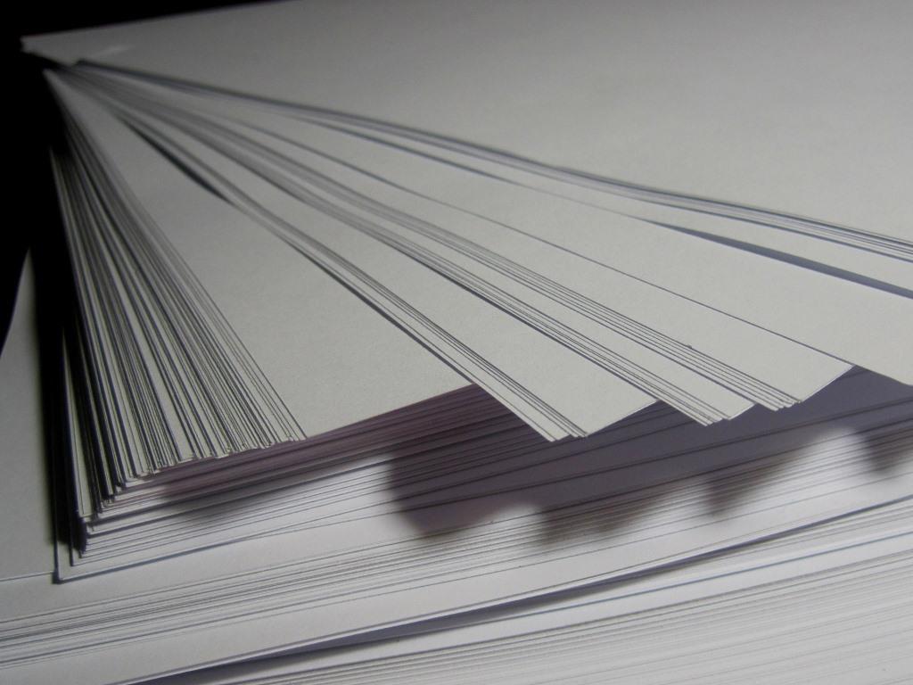 Papier ist nicht gleich Papier copyright: pixabay.com