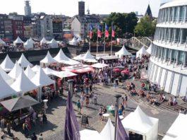Domstadt wird zur Schlemmermeile: Genuss Festival Köln 2018 copyright: Wellfairs GmbH / Miriam Rippers