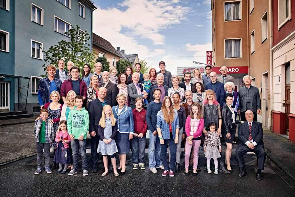 Seit 1985 aus Köln in die Wohnzimmer der Deutschen: DIe Lindenstraße. © WDR/Thomas Rabsch