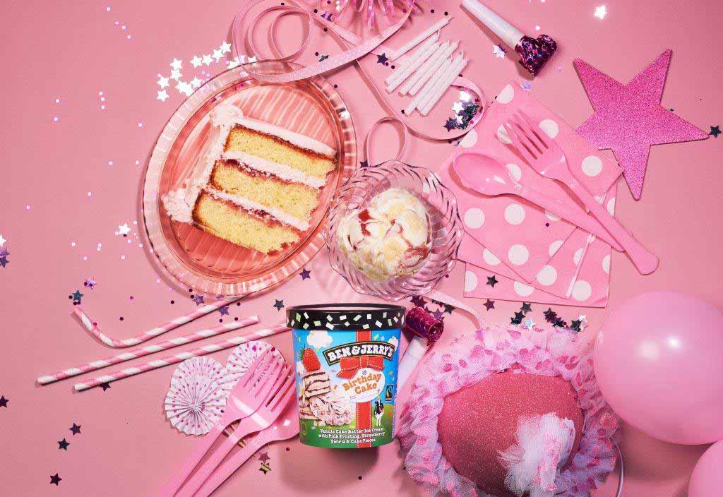 Eiskalter Geburtstagskuchen: Ben & Jerry's feiert Jubiläum copyright: Ben & Jerry's