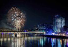 So wird das Feuerwerk und die Musik zu den Kölner Lichter 2018 copyright: Jens Korte / KölnTourismus GmbH