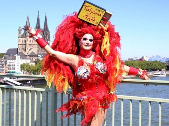Vom 22. Juni 2019 bis Sonntag, 7. Juli 2019 findet in Köln der ColognePride statt. copyright: CityNEWS