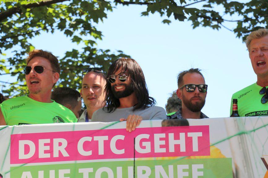 Auch beim ColognePride / CSD Köln 2018 mit dabei: ESC-Gewinnerin Conchita