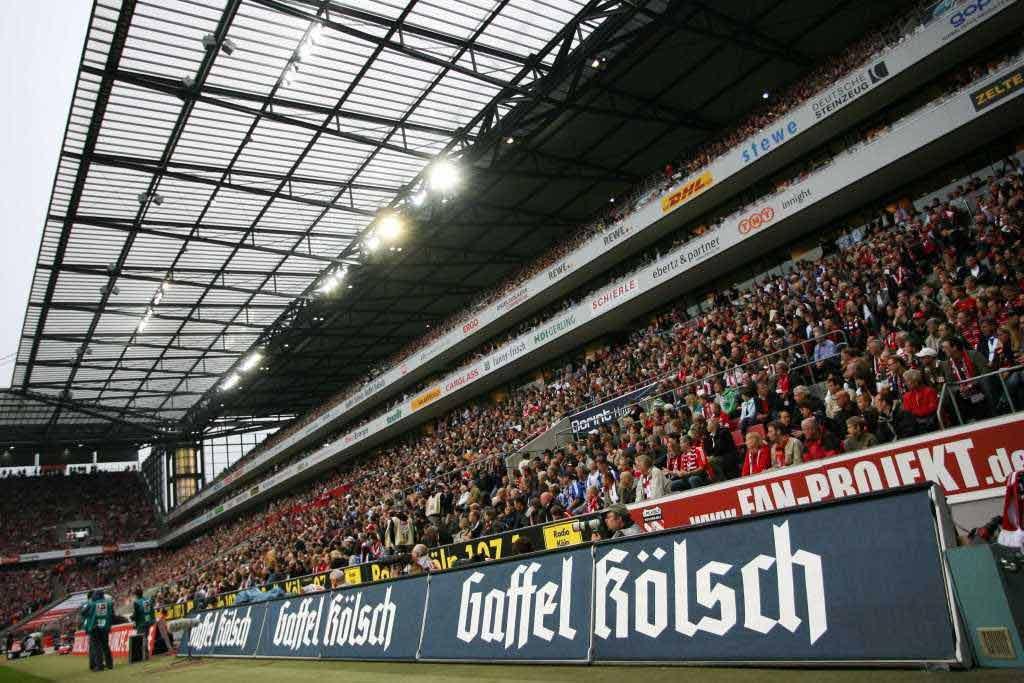 Für jedes Heimspieltor der Geißböcke gab es für die Fans 111 Liter auf das Konto. copyright: Gaffel