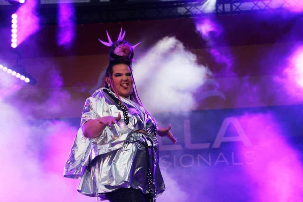 ESC-Gewinnerin Netta aus Israel war einer der Highlight-Acts beim Bühnenprogramm. copyright: CityNEWS