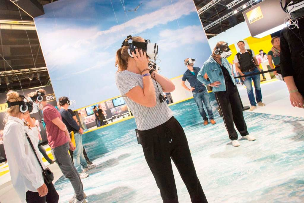 Auch neueste Technologien können vor Ort direkt ausprobiert und erlebt werden. copyright: Koelnmesse GmbH, Oliver Wachenfeld