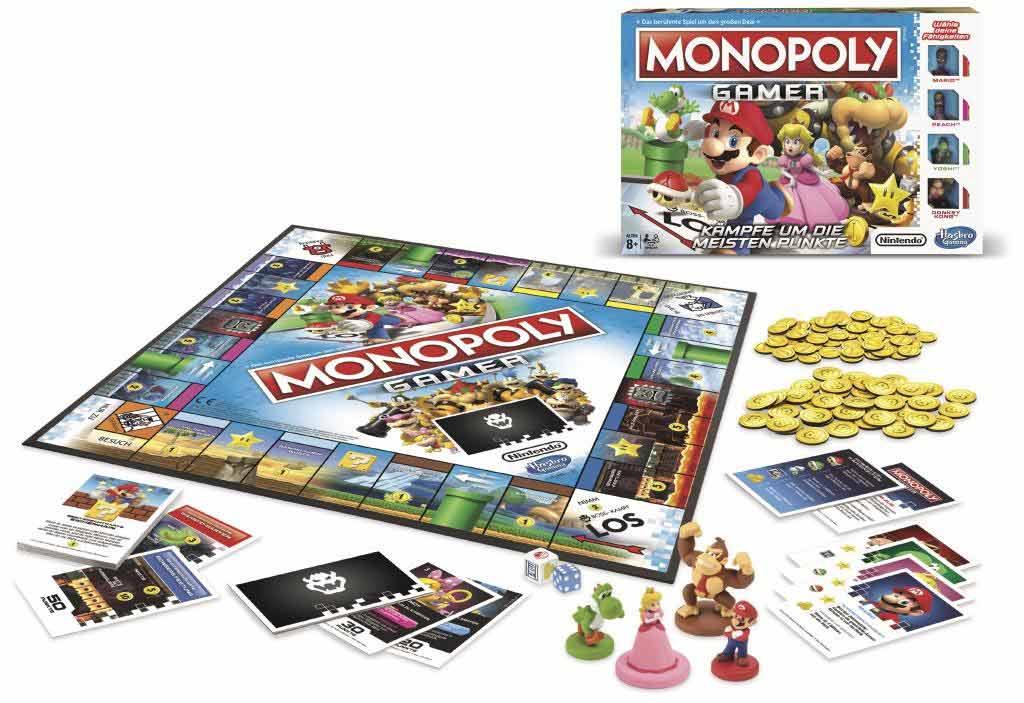 Mit Super Mario und Co. auf Punktejagd. copyright: Hasbro Gaming