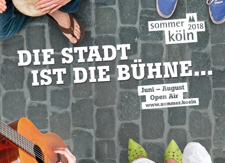 SOMMER KÖLN 2018: Open Air und Eintritt frei! copyright: Stadt Köln