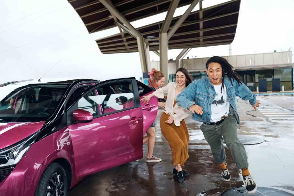 Toyota AYGO: Der neue Cityflitzer lädt in Köln zu spontanen Mutproben copyright: Toyota