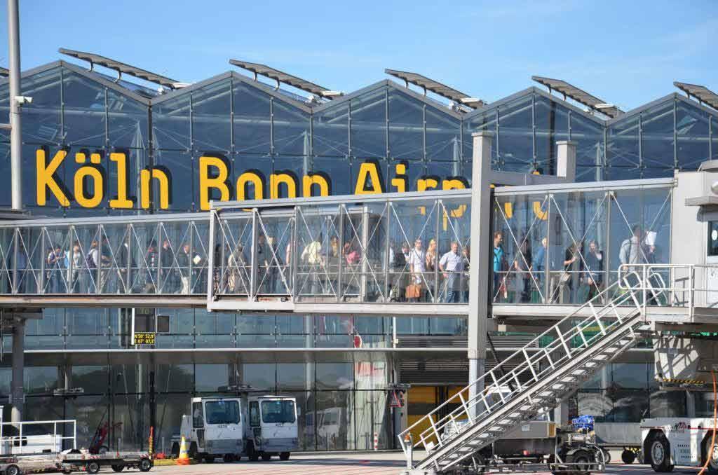 Genau in die hektische Reisezeit fallen wichtige Sanierungsarbeiten copyright: Köln Bonn Airport