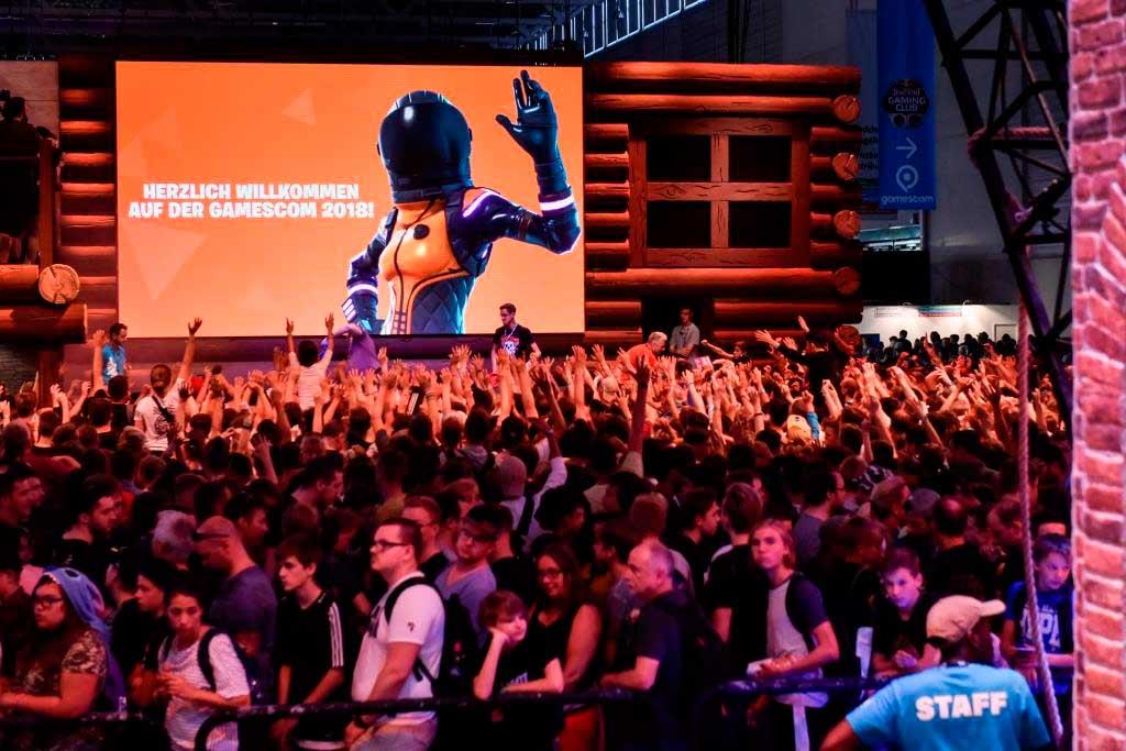 In Köln werden zur Spielemesse wieder tausende Besucher erwartet. copyright: Koelnmesse GmbH, Thomas Klerx