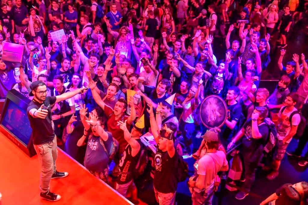 Keine Angst vor Besuchermassen sollte man während der gamescom 2018 in Köln haben. copyright: Koelnmesse GmbH / Thomas Klerx