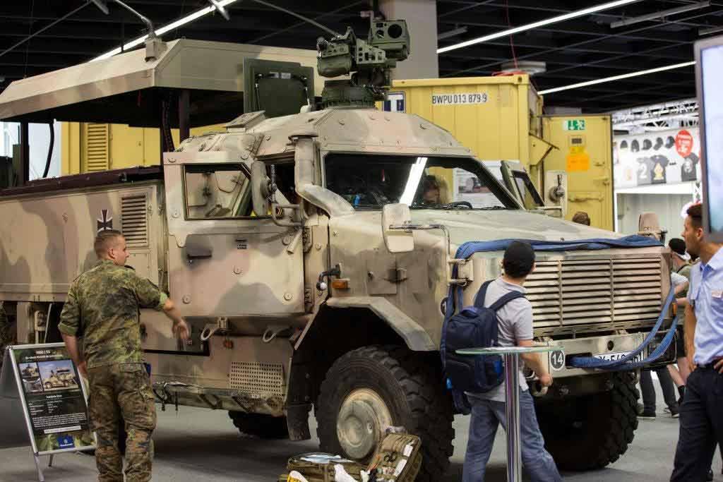 Die Bundeswehr wirbt seit Jahren auf der gamescom und sorgt in diesem Jahr für Kopfschütteln mit ihrer Kampagne. copyright: CityNEWS / Alex Weis