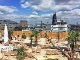 SonnenscheinEtage: Wann öffnet Kölns höchste Beachbar endlich? copyright: SonnenscheinEtage