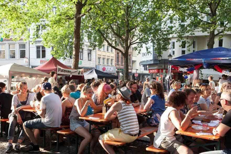 Beim gamescom city festival wird es auch wieder einen großen Street-Food-Markt geben copyright: gamescom