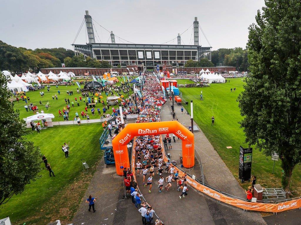 23.000 Läufer waren beim B2Run 2018 in Köln am Start copyright: Stephan Schuetze /Infront B2Run GmbH