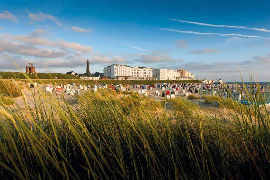 Die Nordseeinsel Borkum ist ein Urlaubsziel in Bestlage. copyright: Nordseeheilbad Borkum GmbH
