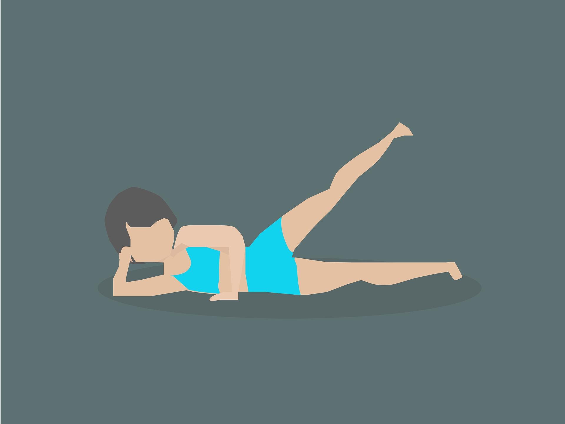 Muskeltraining zu Stärkung des Beckenbodens copyright: pixabay.com