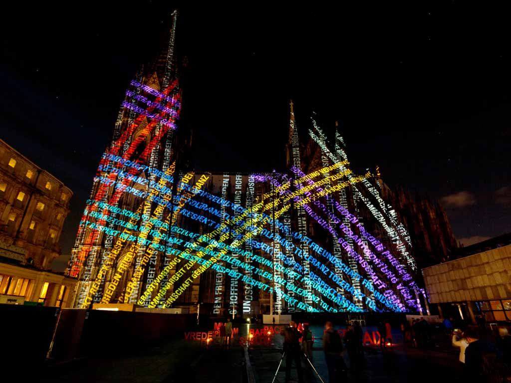 Domwallfahrt 2018: Kölner Dom erstrahlt im spektakulären Licht! copyright: Koelnmesse GmbH / Andreas Hagedorn