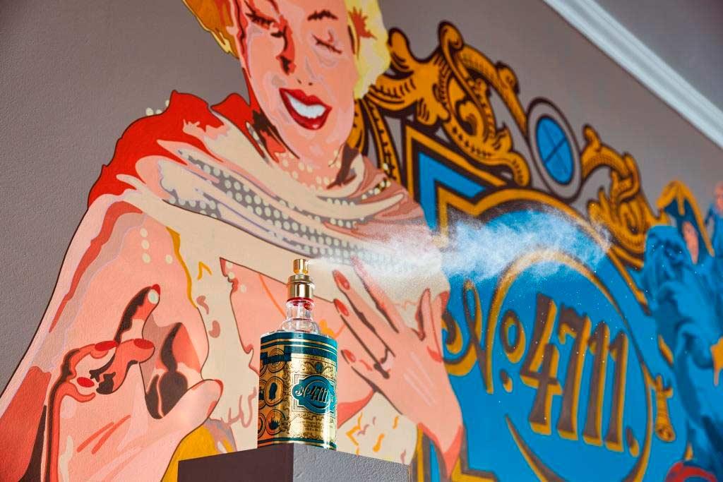 Street-Art mit 4711, Dom, Zoo und Schokolade im City Plaza copyright: Lidner Hotels / Nicole Zimmermann