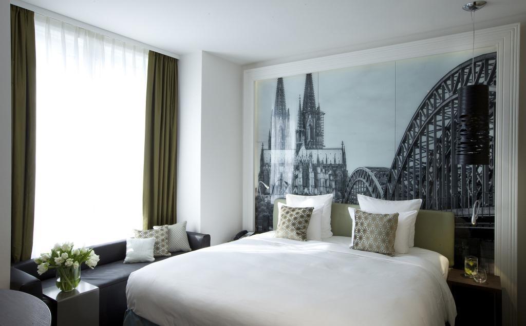 Auch die Hotelzimmer versprühen kölsches Lebensjeföhl. copyright: Lindner Hotels