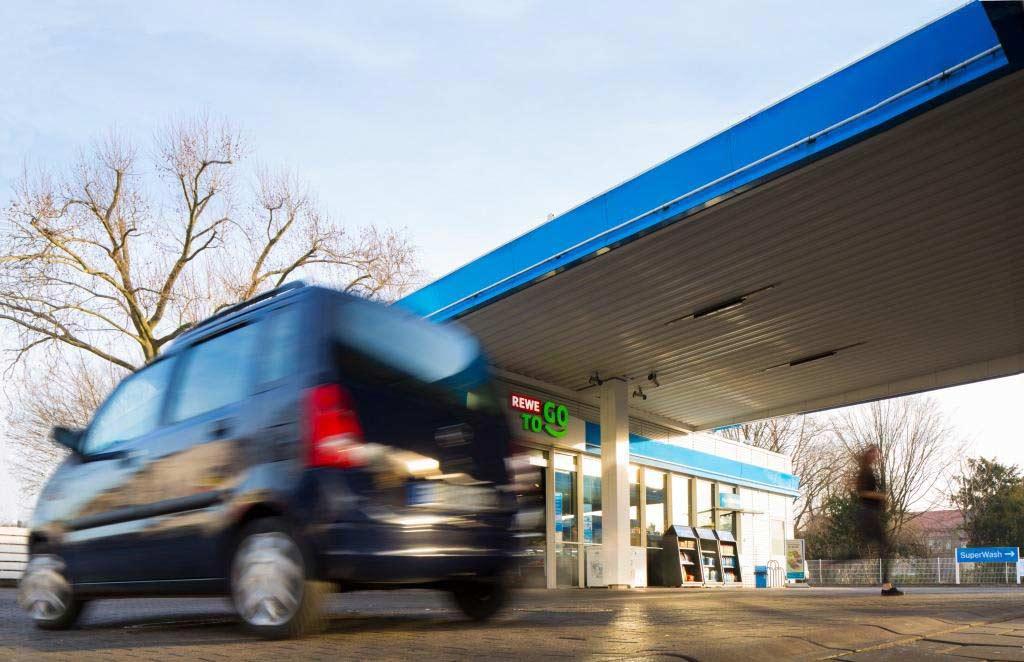 Kölner REWE To-Go-Stationen in Aral Tankstellen in der Übersicht copyright: Aral