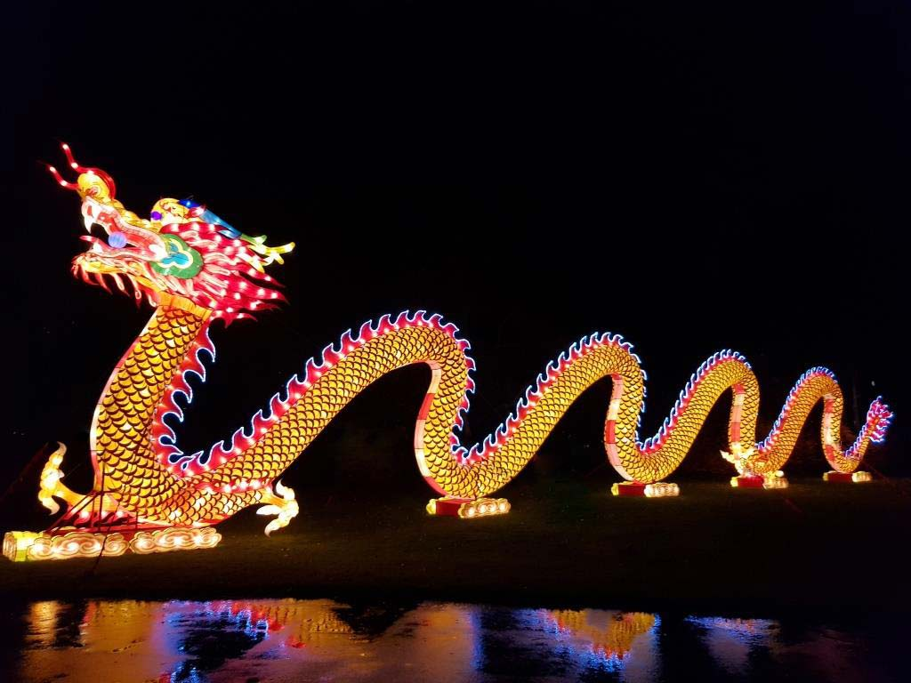China Light Festival: Der Lichterzauber geht weiter! copyright: CityNEWS / Alex Weis