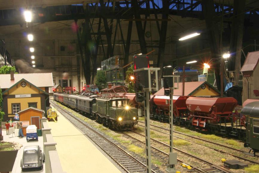 Alle Infos zur Internationalen Modellbahn Ausstellung copyright: Messe Sinsheim