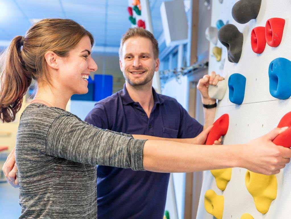 Zusammen mit der angeschlossenen Klinik für Physikalische Therapie und medizinische Rehabilitation erhalten Patienten im Sana Dreifaltigkeits-Krankenhaus Köln ein optimales Behandlungsangebot. - copyright: Ulf Salzmann