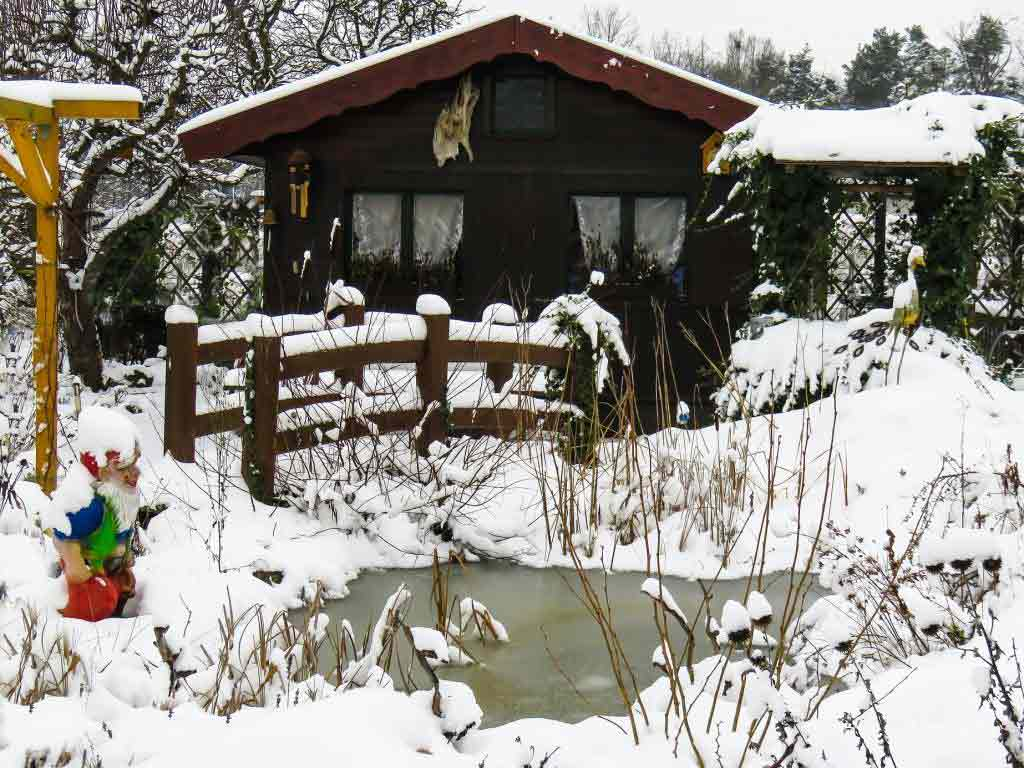Haus und Garten auf die Kälte vorbereiten copyright: pixabay.com