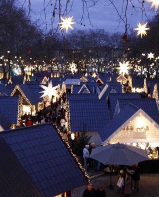 Markt der Engel auf dem Neumarkt: Himmlische Stimmung in der Kölner City copyright: Markt der Engel