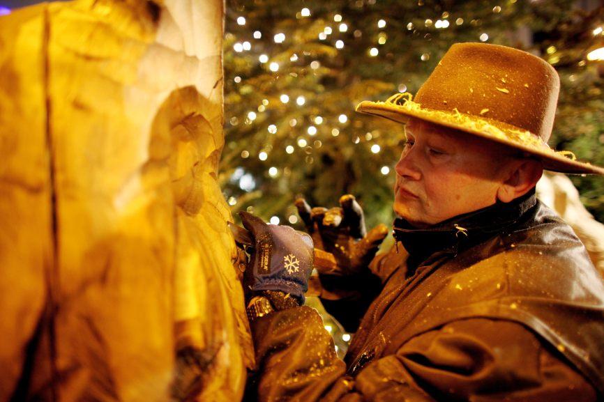 Kunsthandwerk wird auf dem Weihnachtsmarkt in der Kölner Altstadt groß geschrieben. copyright: Heinzels Wintermärchen Köln