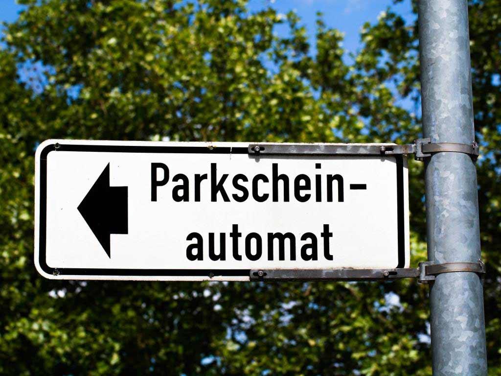 Parkticket ziehen und kostenlos Bahn fahren copyright: pixabay.com